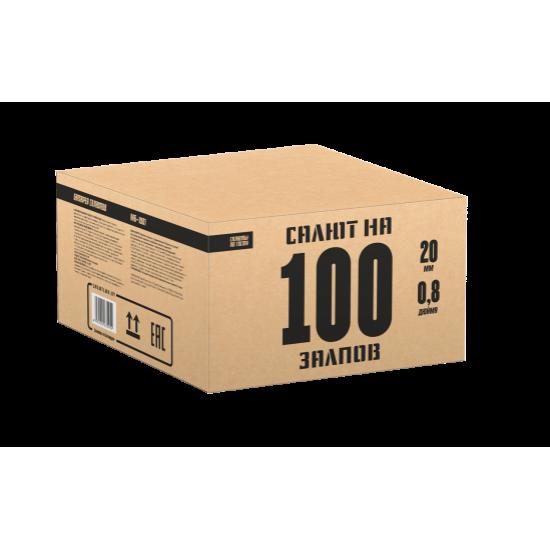 Салют 100 залпов
